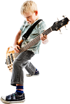 bass guitar boy