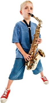 saxophone boy