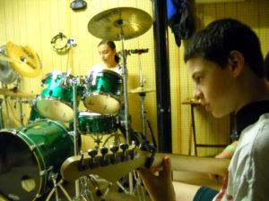 student rock band ensemble